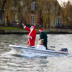 Henley Christmas Club Sailing Party.